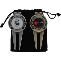 Selecting Promotional products picture of golf divot tool.